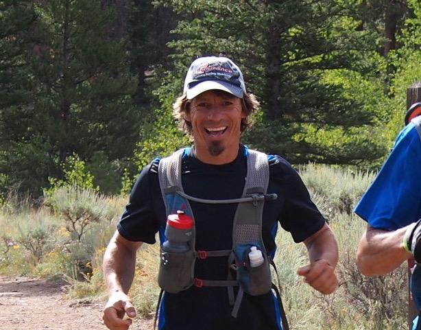 Robert Kunz from First Endurance running the Speed Goat 50k