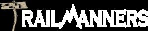 TrailManners White Logo