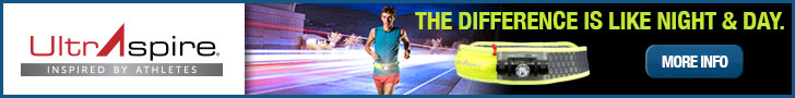 UltrAspire banner ad for the Lumen 600 waist belt.