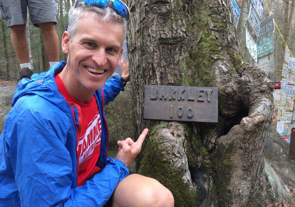 Photo of Jason Poole at the Barkley Marathon.