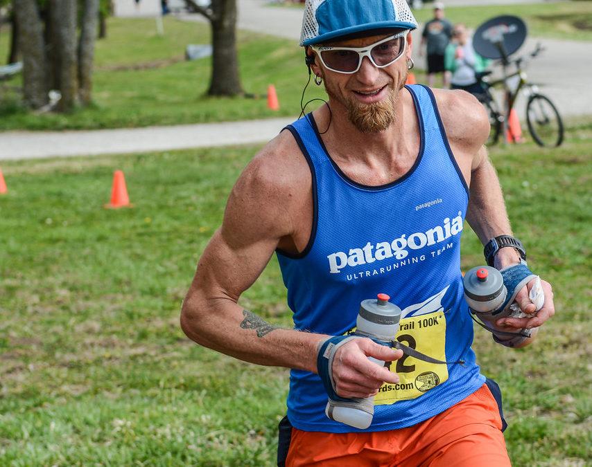 Patagonia ultrarunner Jeff Browning at the FreeState 100k.