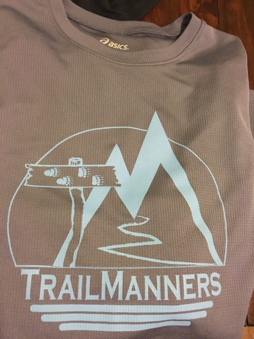 Grey Long Sleeve TrailManners Tech Tee