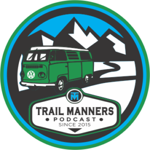 TrailManners Coaster Logo artwork.
