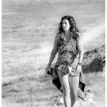 Annie McDonald power walking the Pony Express 50 miler.