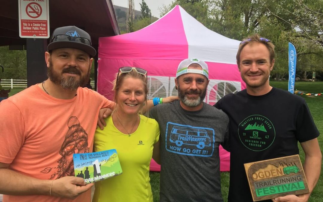 Anna Frost at the Ogden Trail Running Festival