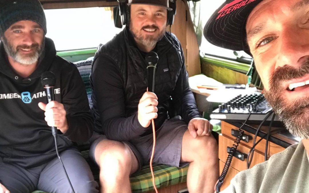 Ben Light in TrailManners Studio 78 podcast studio.