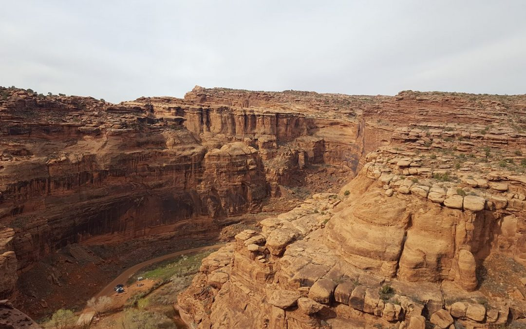 Photo from Johanna Oxstrand at the Behind the Rock trail race in Moab Utah.