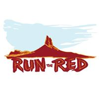 Run the Red trail race logo